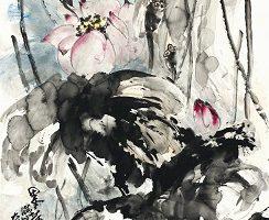 H.H. 第三世多杰羌佛的水墨畫 價高創新世界紀錄