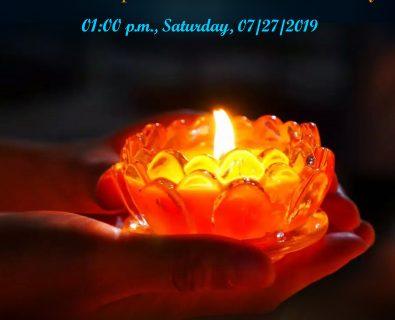 2019-07-27 舊金山瑪倉寺七月份禮懺法會